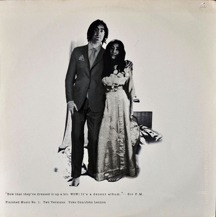 Album Cover Parodies Of John Lennon Yoko Ono Two Virgins