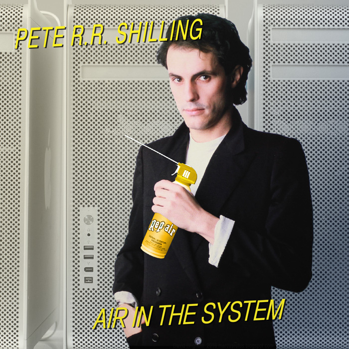 Album cover parody of Error In The System by Peter Schilling