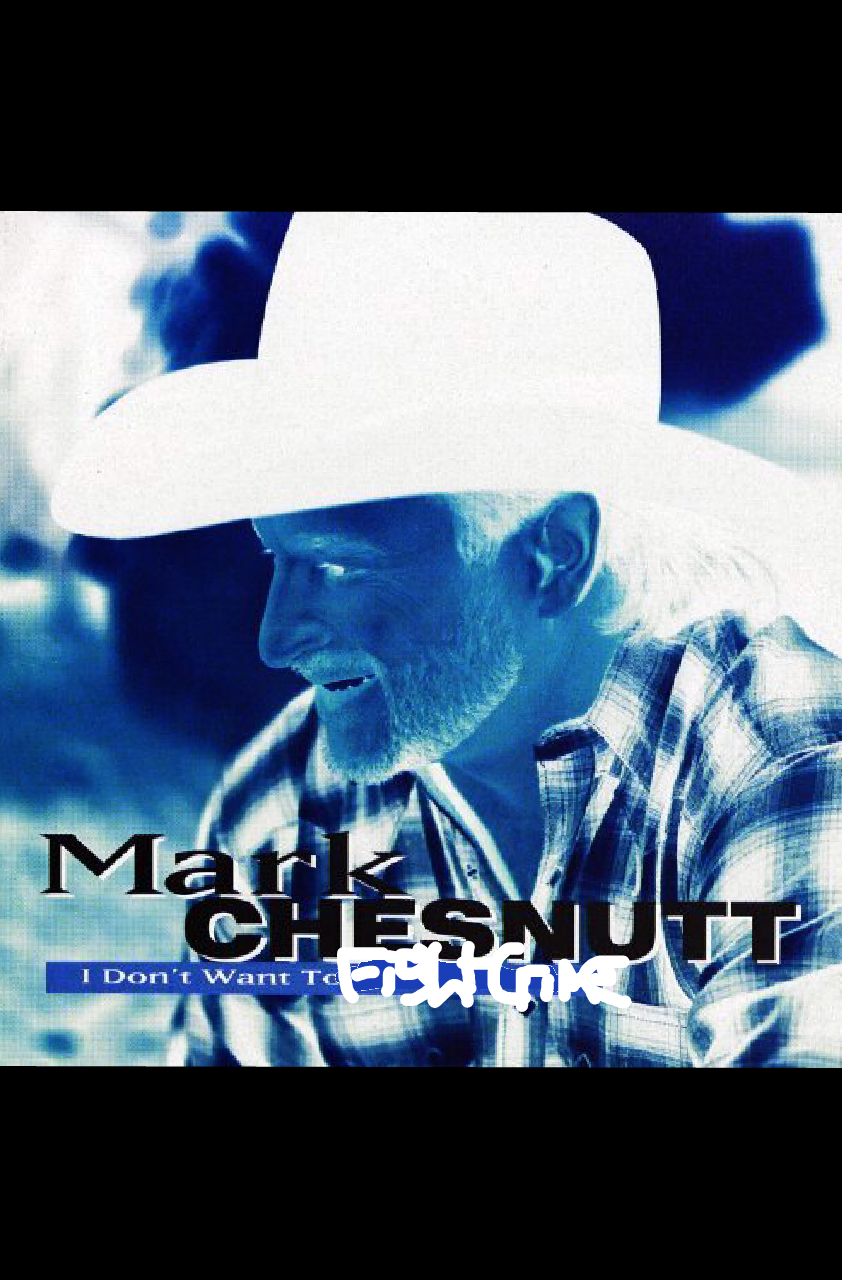 Album cover parody of I Don't Want To Miss A Thing by Mark Chesnutt