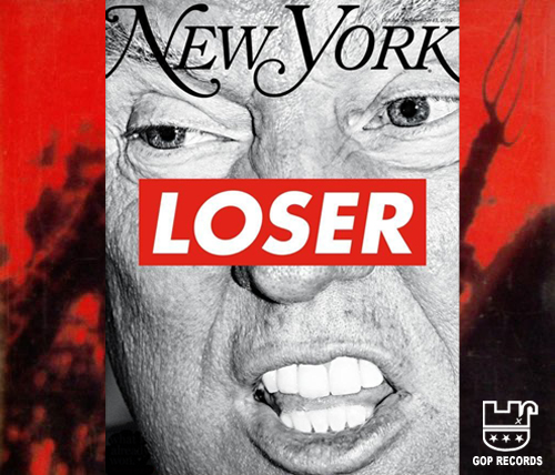 Album cover parody of Loser by Beck