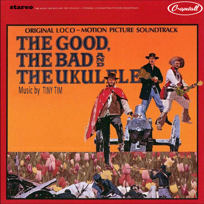 Album cover parody of The Good, The Bad & The Ugly by Soundtrack - Ennio Morricone