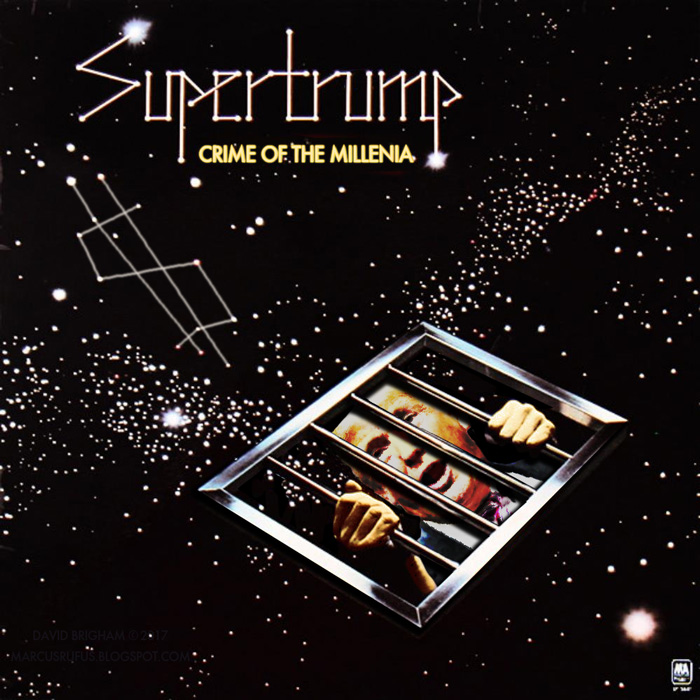 Album cover parody of Crime Of The Century (Remastered) by Supertramp